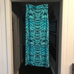 JCP Ana brand tie-dye maxi skirt sz Medium M